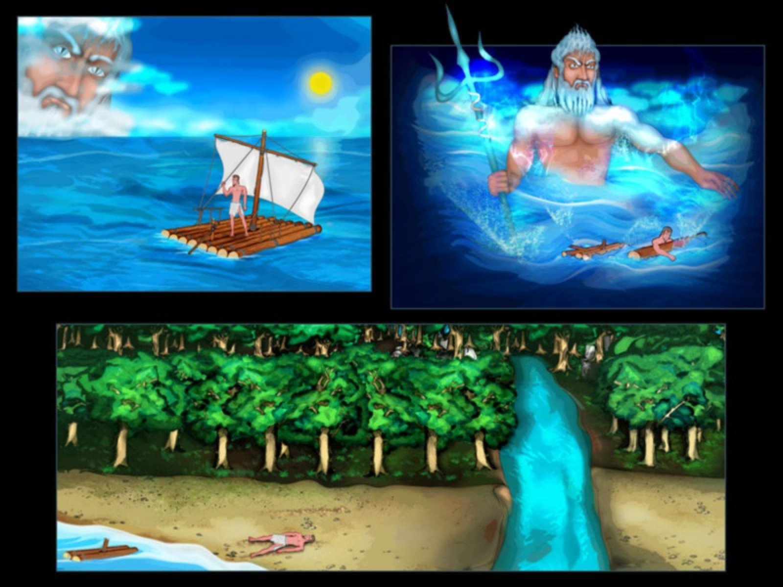 odysseus adventures in the odyssey Start studying the odyssey part 1: the adventures of odysseus, sailing from troy, the lotus eaters learn vocabulary, terms, and more with flashcards, games, and other study tools.